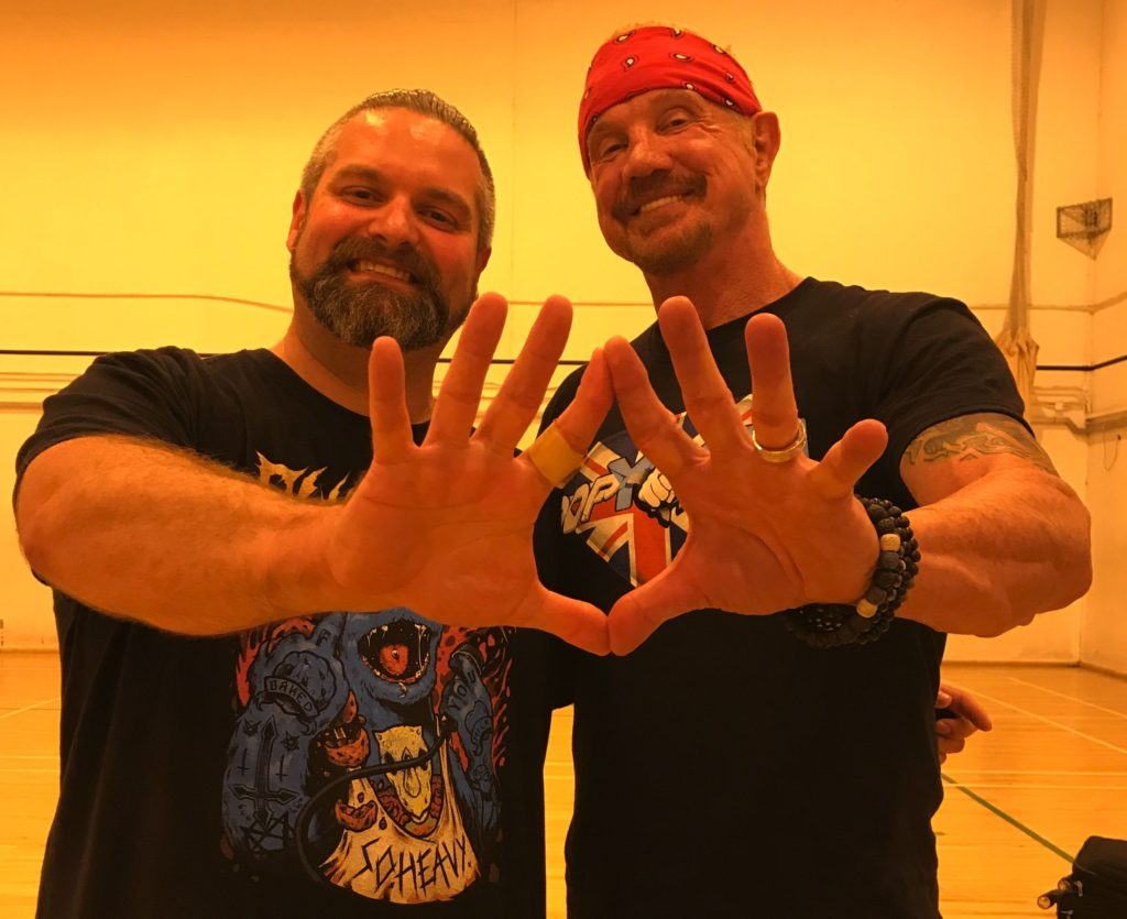 The day Boz met DDP himself and this journey really began.